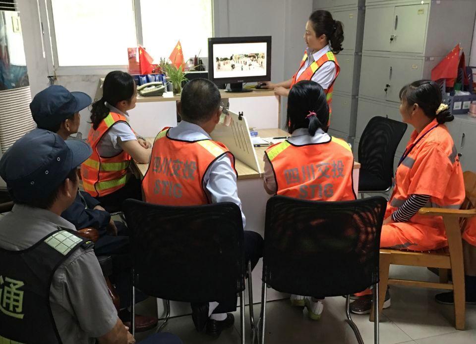 9.15+倪伟+隆昌停车区开展机电系统故障现场处置桌面推演应急演练